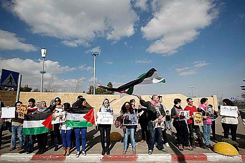 Arab Students Launch Anti-Israel Photo Exhibit at Hebrew U.
