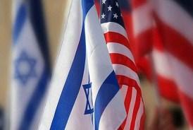 israeli-american flags