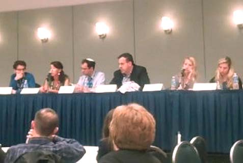 "At 2013 J Street Conference this panel discussed how to subvert Birthright Israel trips, according to ""The J Street Challenge"" film."