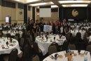 Pegasis Grand Ballroom was ready for Shabbat 613.