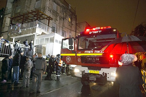 Fire Meah Shearim