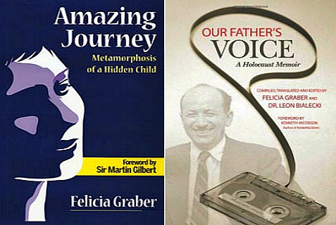 Two books written by siblings about their family's experience during the Holocaust.