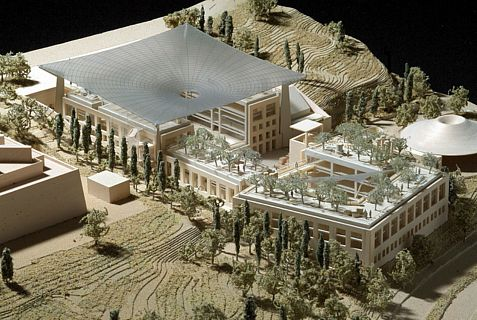 Design of new Mandel Archaeology complex in Jerusalem