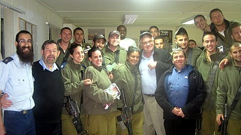 Soldiers Purim 2