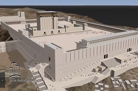 Temple Mount Simulation