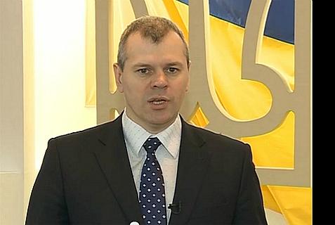 Deputy Ukranian Interior Minister Mykola Velkovych