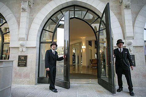 Waldorf Astoria Entrance