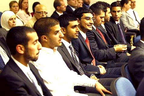 "The ""Irvine 11"" who received criminal convictions for the manner in which they prevented Israeli Ambassador Michael Oren from speaking."