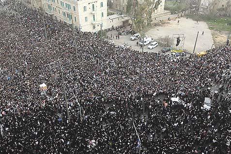 jerusalem haredi rally