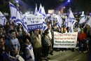 Local Tel Aviv residents protest against the illegal infiltrators that have taken over their neighborhood.