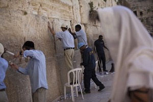 Cleaning out Kotel Wall 2