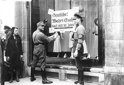 German Boycott of Jewish Businesses
