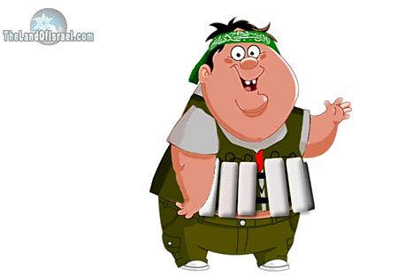 Hamas Suicide Bomber Cartoon