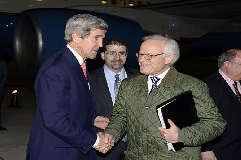 "John Kerry is staying clear of Israel on his new Middle East tour, and ""peace process"" Martin Indyk is out of sight and out of mind."