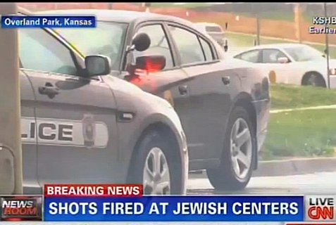 At least three people were killed in a shooting incident at two separate Jewish institutions outside Kansas City, Kansas, April 13, 2014.