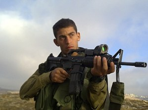 Israel Defense Forces Sgt. Nadav Rotenberg, 20, who was killed January 7, 2011 by a stray IDF mortar shell in an incident near the Gaza border.
