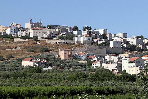 Jish, Hebrew for Gush Halav, is a predominantly Christiasn Arab town located on the northeastern slopes of Mt. Meron, eight miles north of Safed.