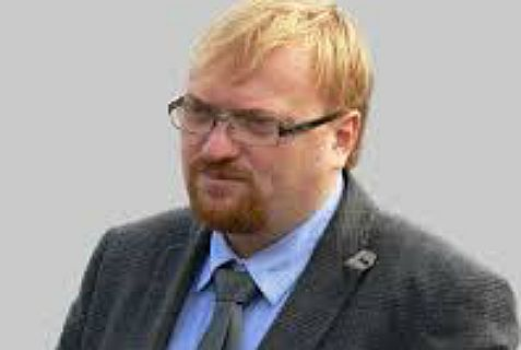 Russian anti-Semitic and anti-homosexual politician Vitaly Milonov.