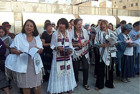 Women of the Wall, co-founded by Rivka Haut, a champion for agunot  who died this week at the age of 71.