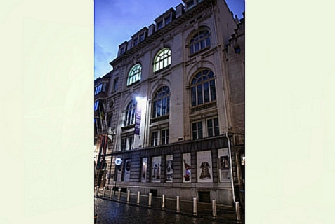 Jewish Museum of Belgium, the scene of a violent attack on Saturday, May 24, 2014.