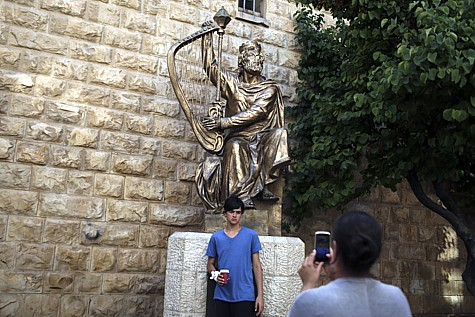 King David Tomb Protest 3