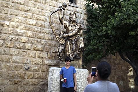 King David Tomb Protest 3