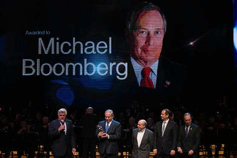 Michael Bloomberg Receives Genesis Award