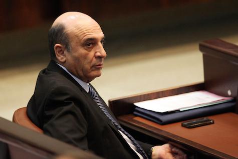 Former Defense Minister Shaul Mofaz