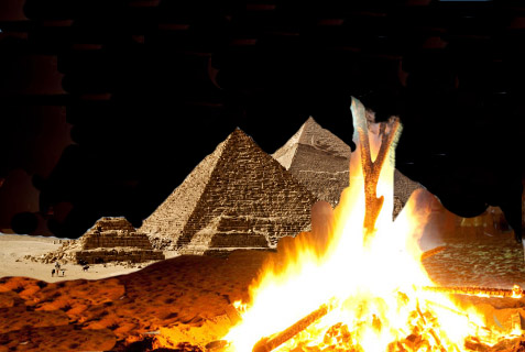 Pyramids and Lag B'Omer