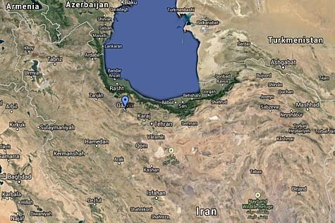 Qazvin Map