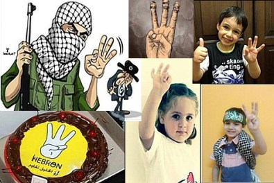 """Palestinian"" society reaches new lows as they post photographs of their children celebrating the kidnapping of Jewish children."