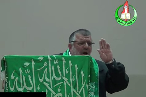 Hamas founder Hassan Yousef spoke at Birzeit University in Ramallah where he promised that Hamas terror will soon arrive in Judea and Samaria.