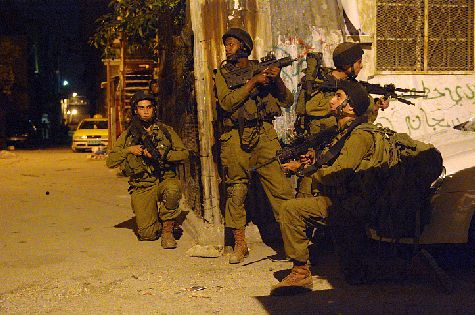 IDF 931 Nachal Brigade searching for Hamas terrorists and the kidnapped teens.