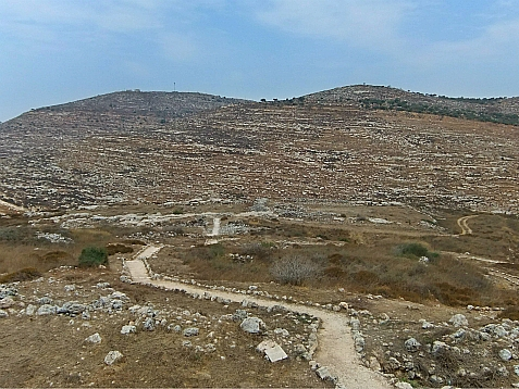 Shiloh, an early capital of Biblical Israel.