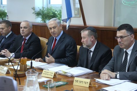 Prime Minister Netanyahu leads weekly cabinet meeting