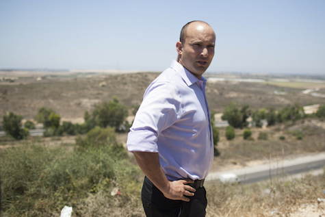 Bayit Yehudi chairman Naftali Bennett.