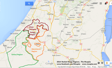 The Gaza Region