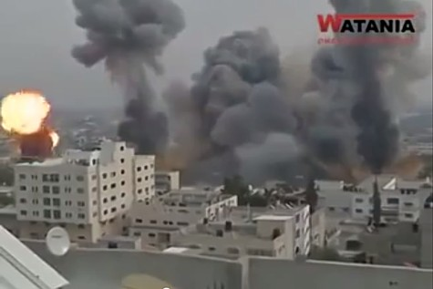 IDF Hits Hamas sites