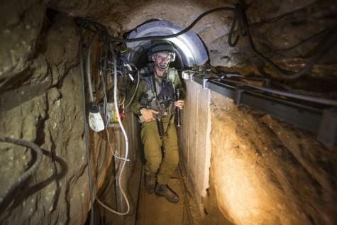 Sophisticated tunnel infrastructure in Gaza being targeted by IDF.