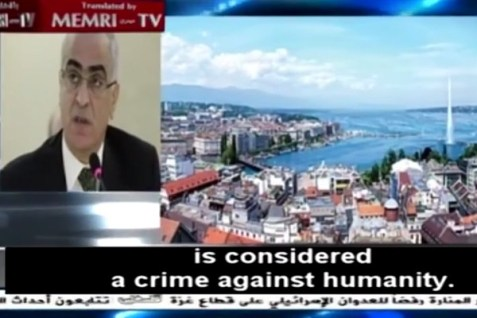 PA Envoy Crime Against Humanity