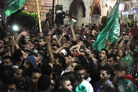 Celebrations in Ramallah