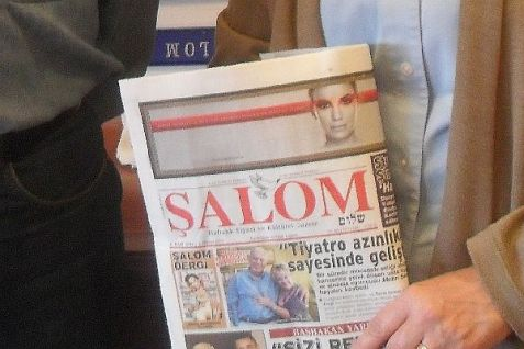Turkey's Jewish weekly newspaper, the Salom Gazete.