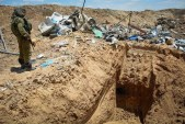 Terror tunnel found in Gaza
