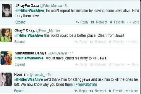 Trending on Twitter on July 15, 2014, #IfHitlerWereAlive