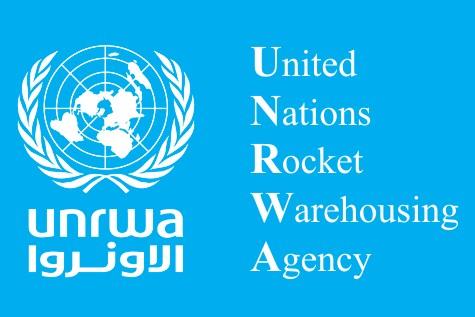 UNRWA Rocket Logo