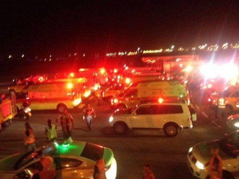 Ambulances at Ben Gurion Airport