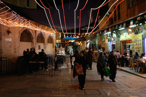 Poor Muslims suffer Israel's Ramadan oppression in the Old City of Jerusalem