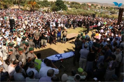 The procession at Shalavim of Naftali Frenkel.