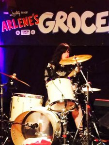 Dalia Shusterman playing at Arlene's Grocery in Manhattan.
