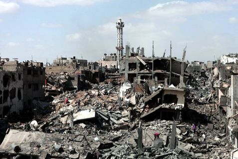 Shijaiyah neighborhood may have been destroyed, but Hamas wants Israeli surrender.